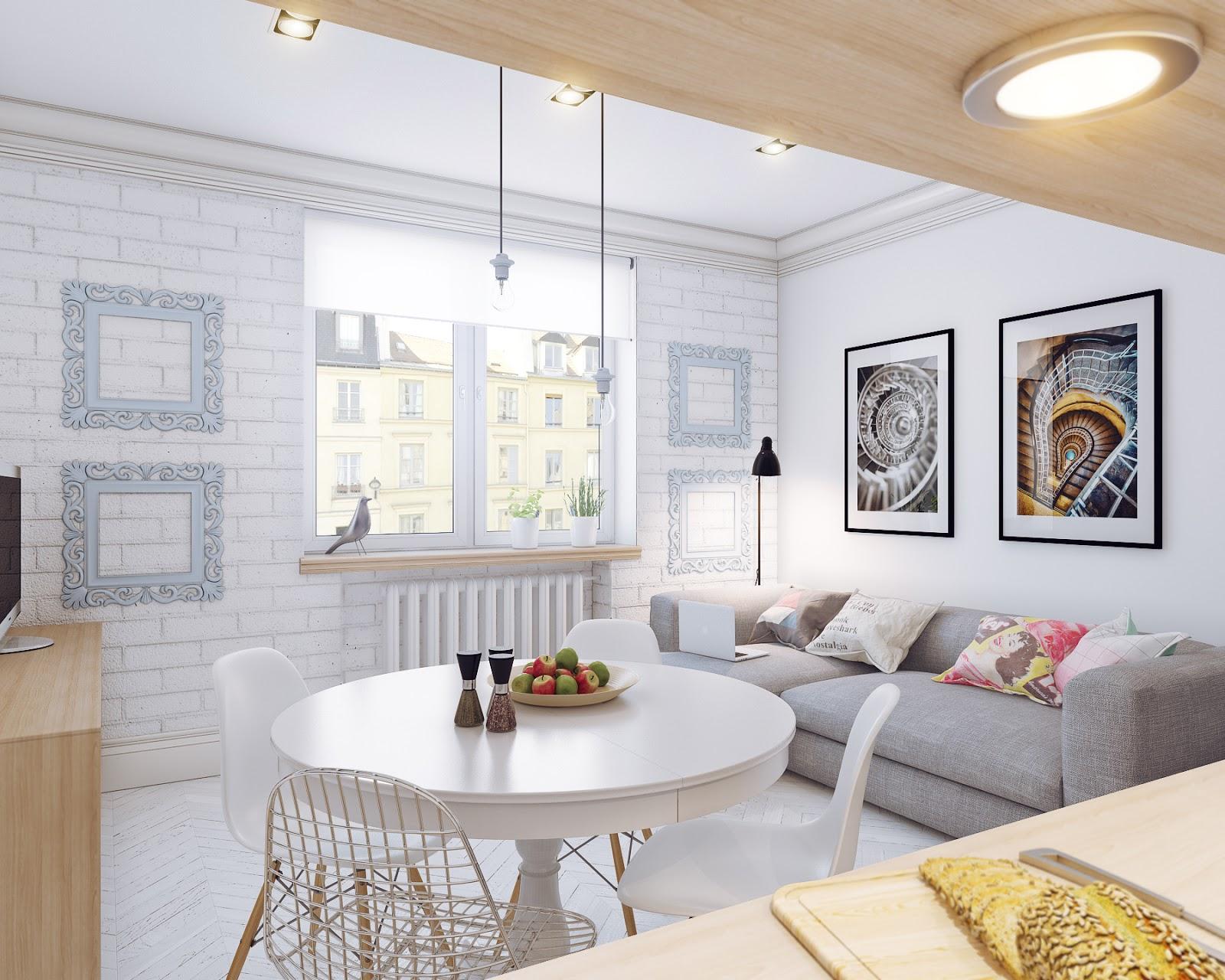 Pochi metri per una casa in perfetto stile scandinavo for Ikea progetto camera