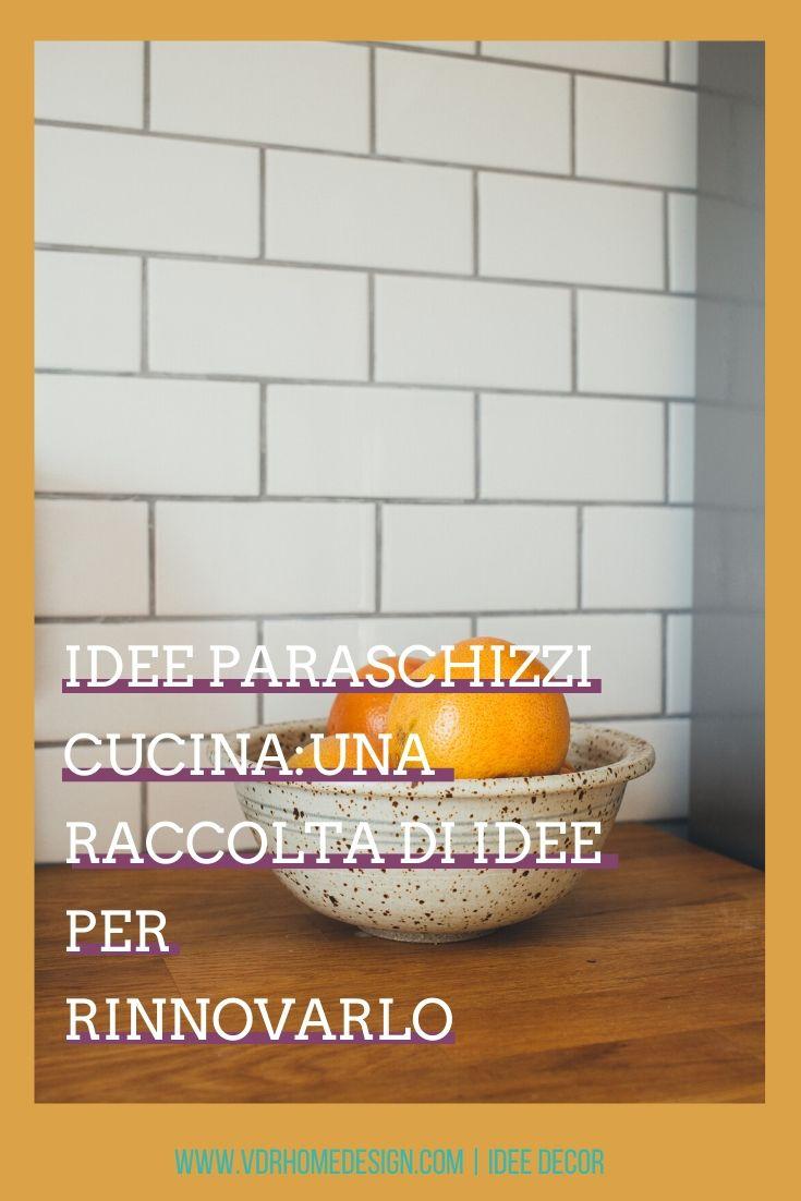 idee paraschizzi cucina