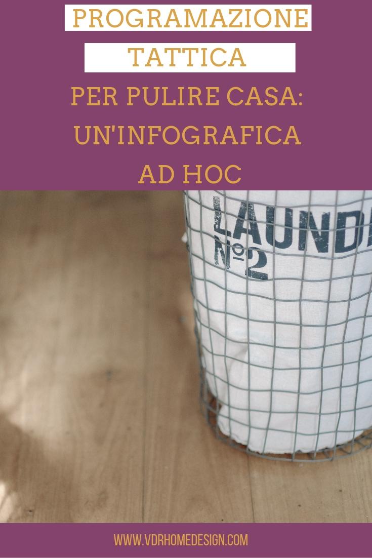 programmazione pulizie di casa