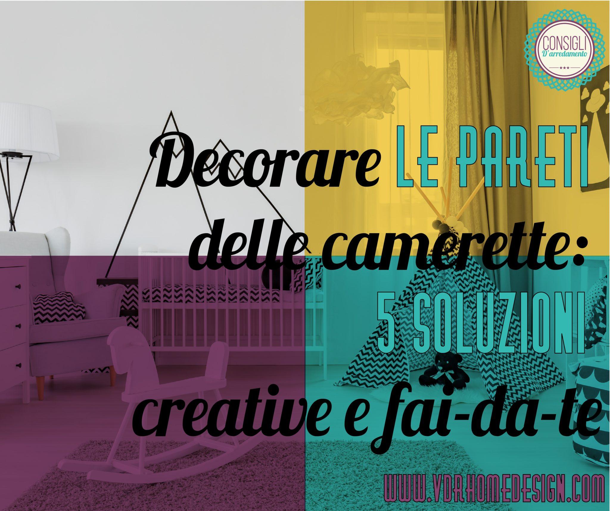 Muri Camerette Per Bambini decorare le pareti delle camerette: #5 soluzioni creative e