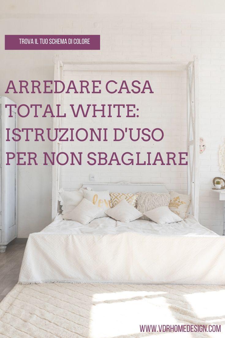 arredare casa total white copertina