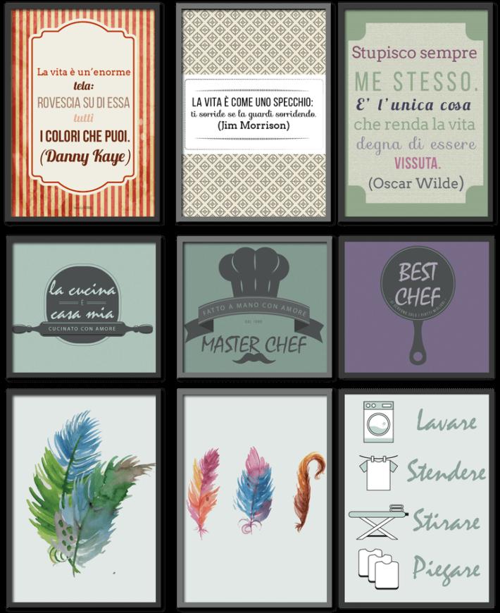 quadri stampabili gratis online