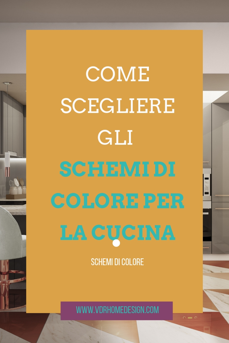 schemi di colore per la cucina