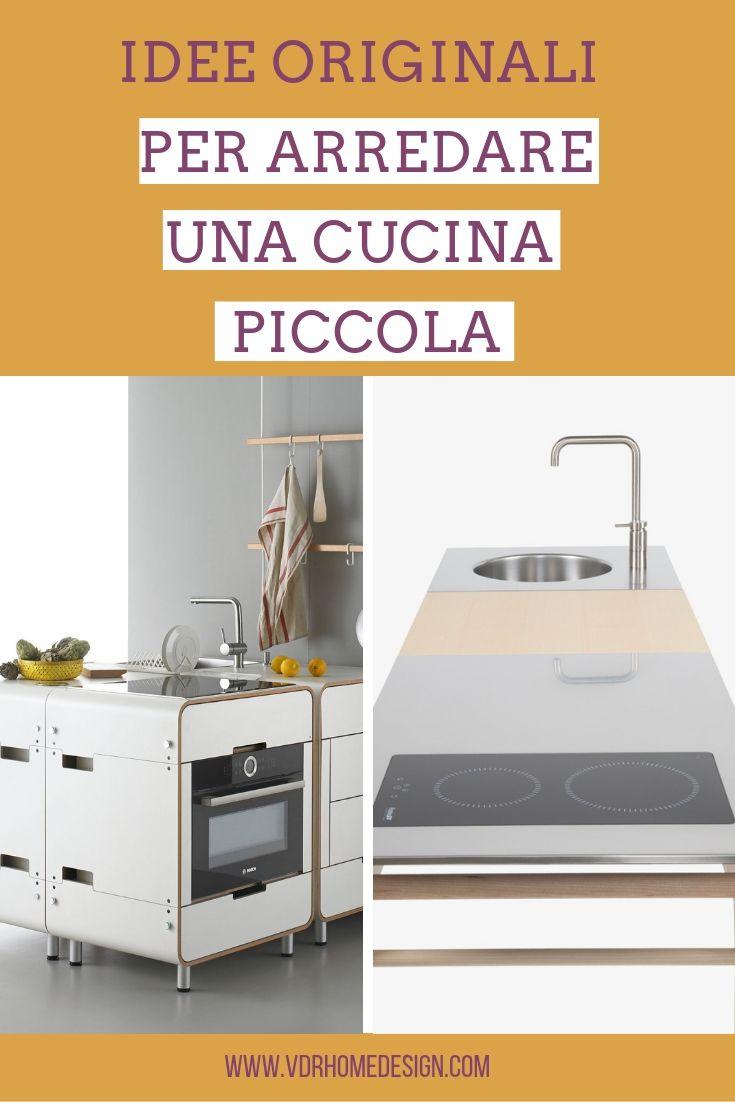 Arredare una cucina piccola con le cucine componibili for Idee per arredare una cucina piccola