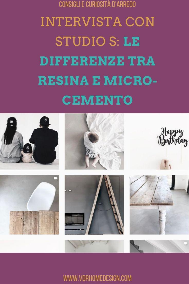 differenze tra resina e micro-cemento