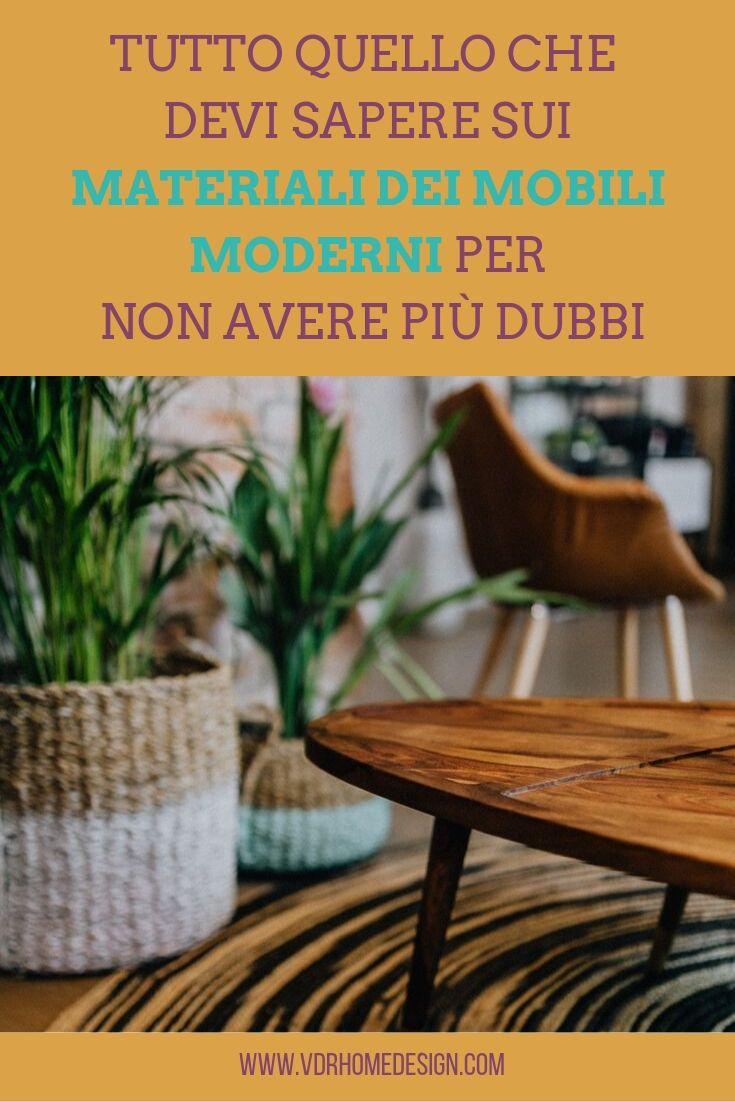 materiali dei mobili moderni copertina