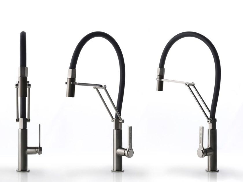 rubinetto per cucina Gessi stile industriale