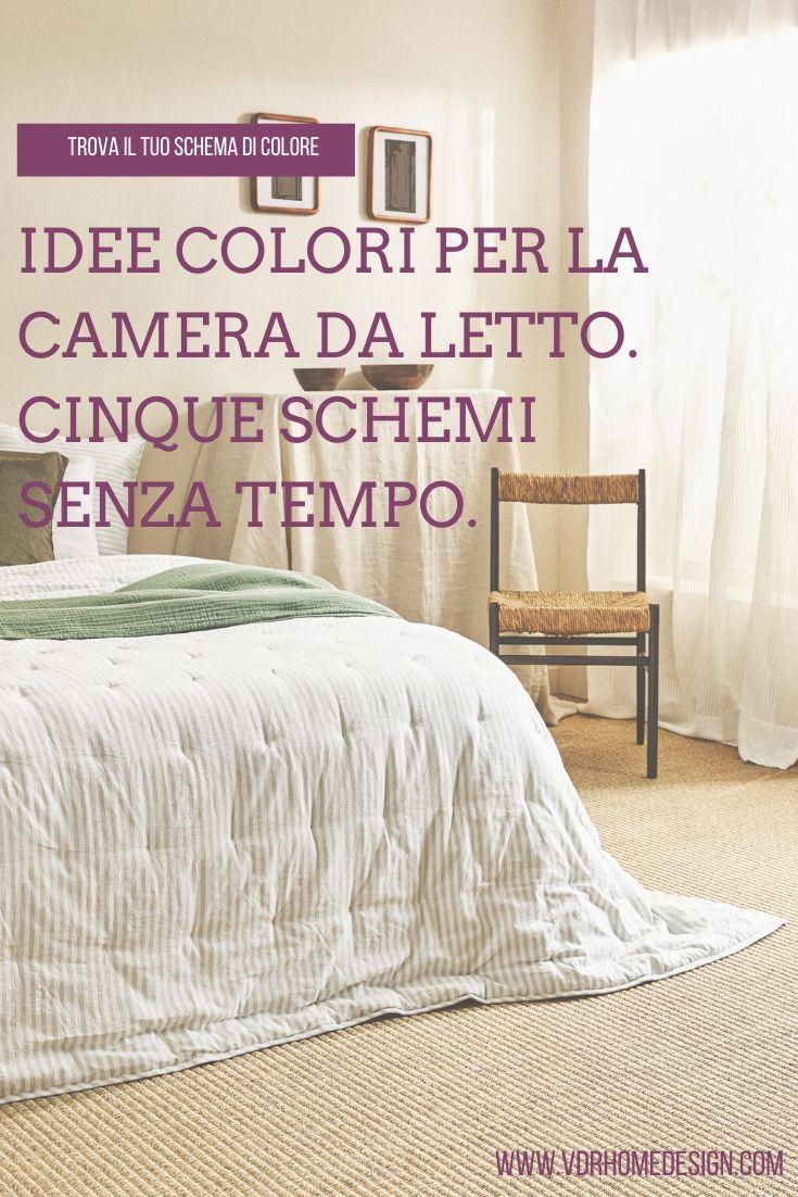 Idee Colori Per La Camera Da Letto Cinque Schemi Senza Tempo