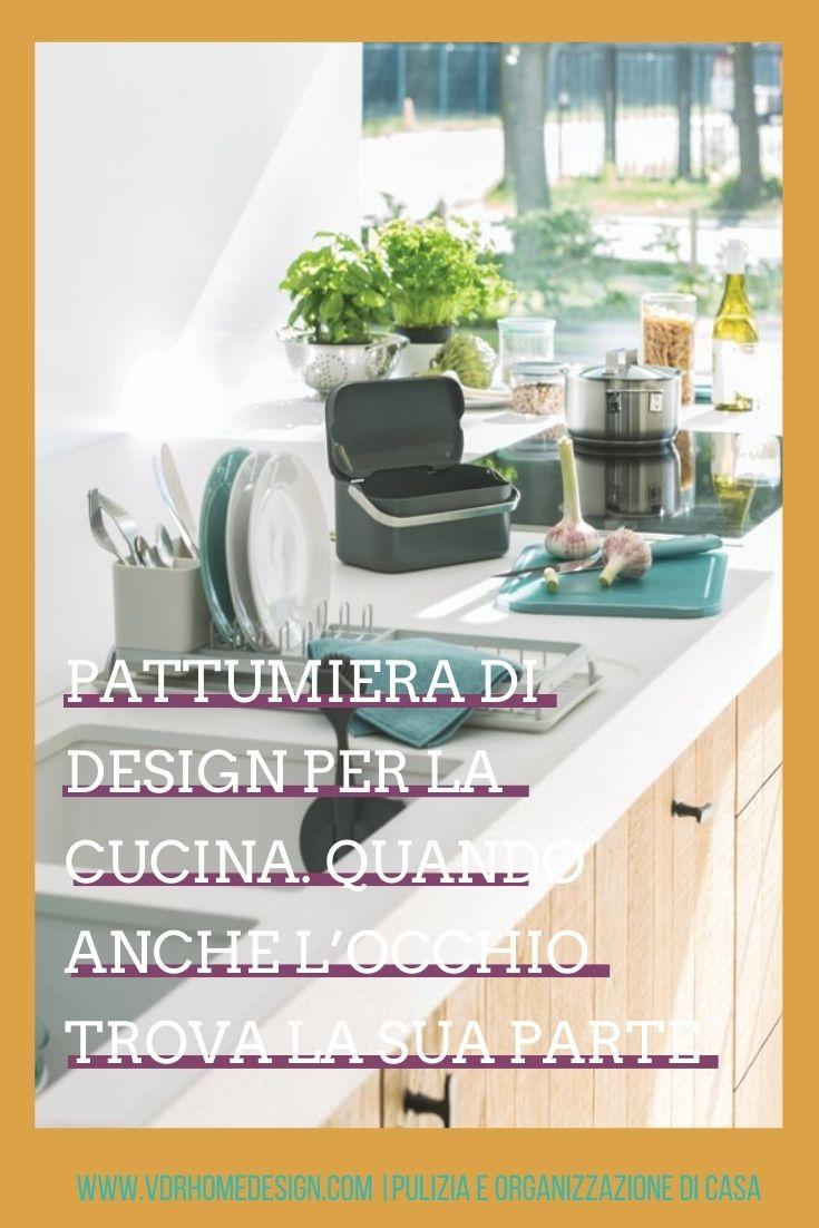 pattumiera design per cucin