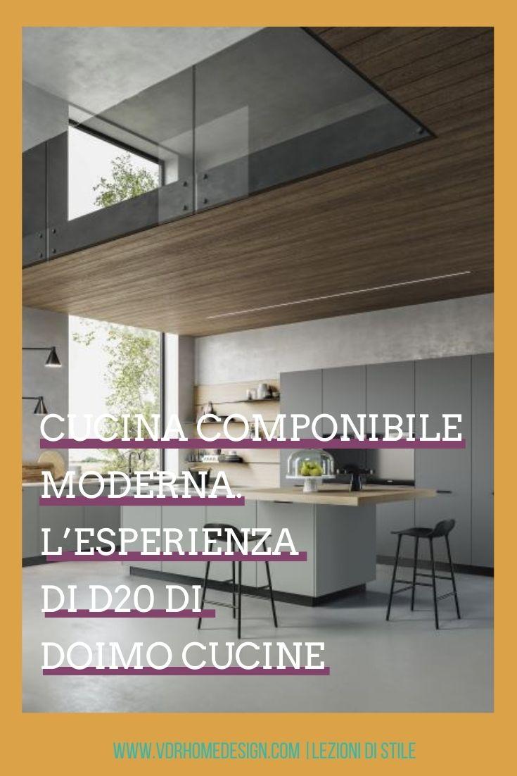 cucina componibile moderna