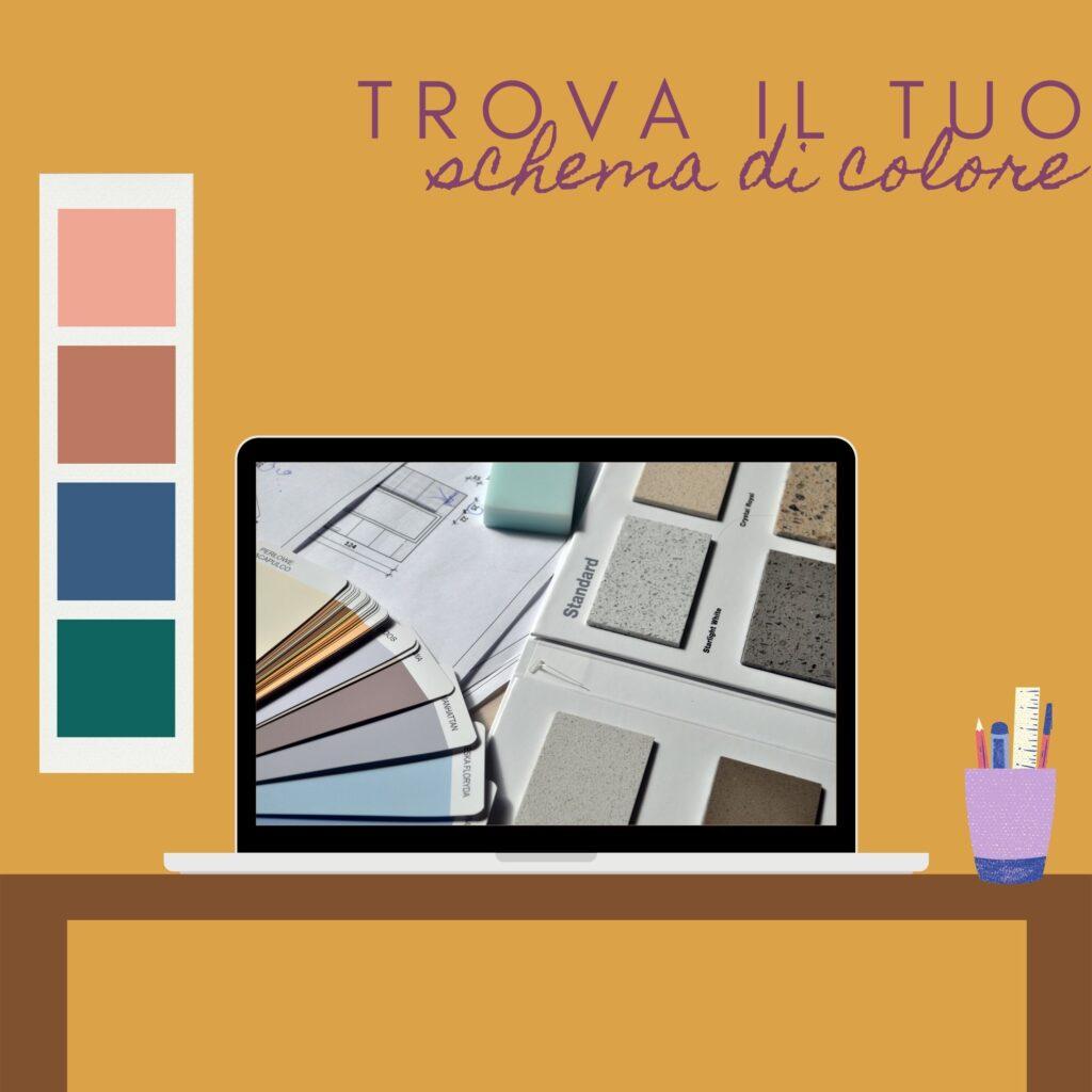 schema di colori per arredamento casa