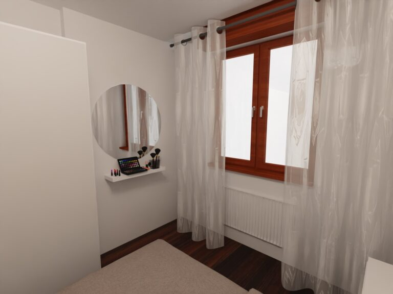 progetto home decor camera da letto