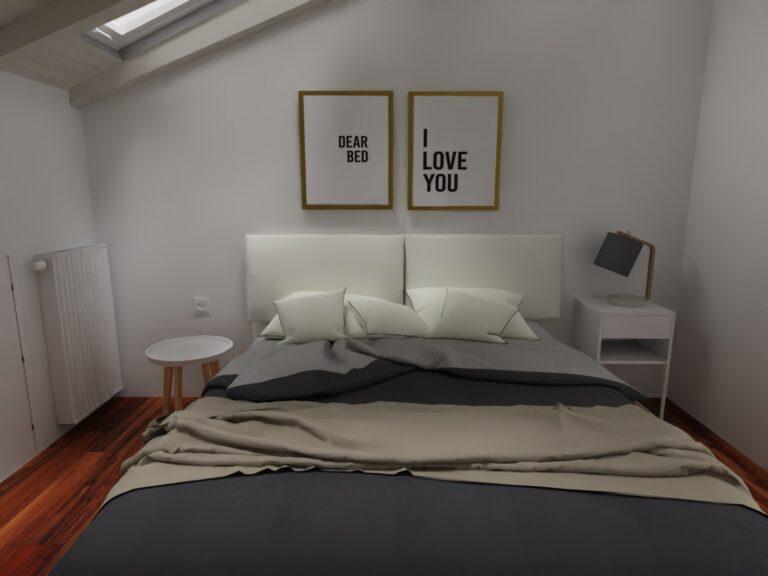 arredamento camera da letto stile nordico