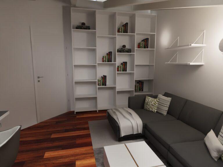 progetto ufficio stile nordico